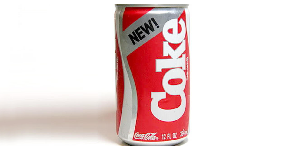 failure new coke header