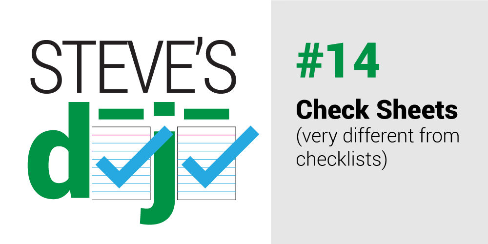 dojo 14 check sheets
