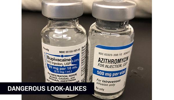 safety lookalike vials
