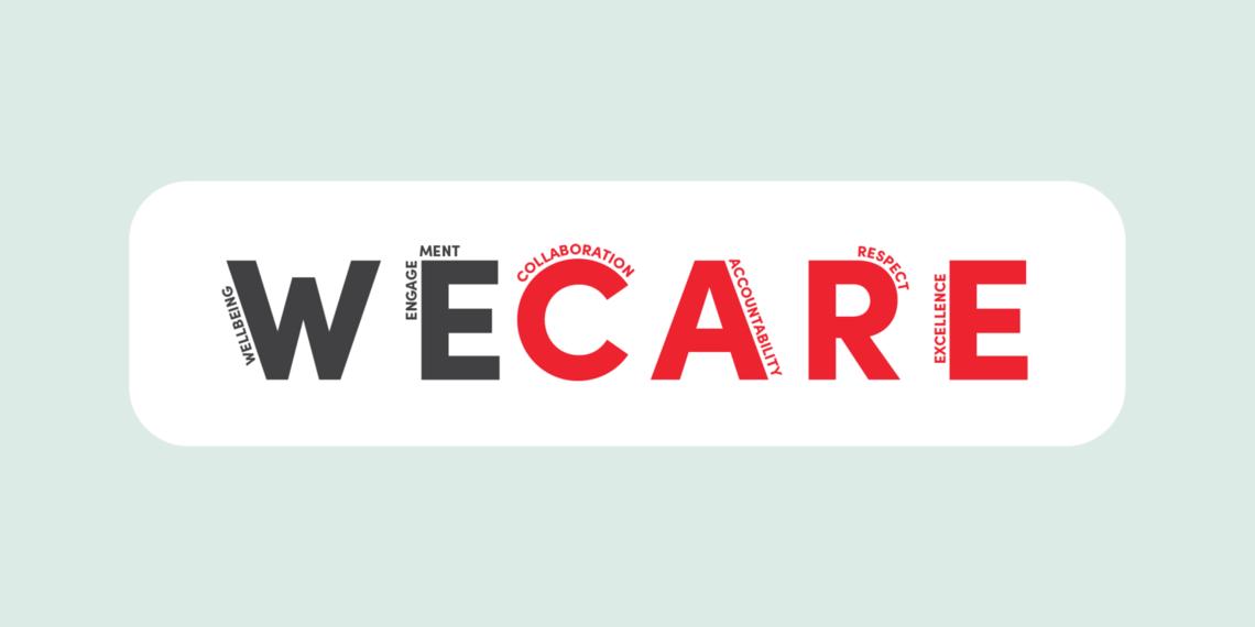 we care header