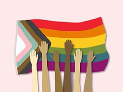 small transgender and gender diverse service header