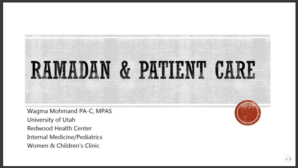 ramadanandpatientcare